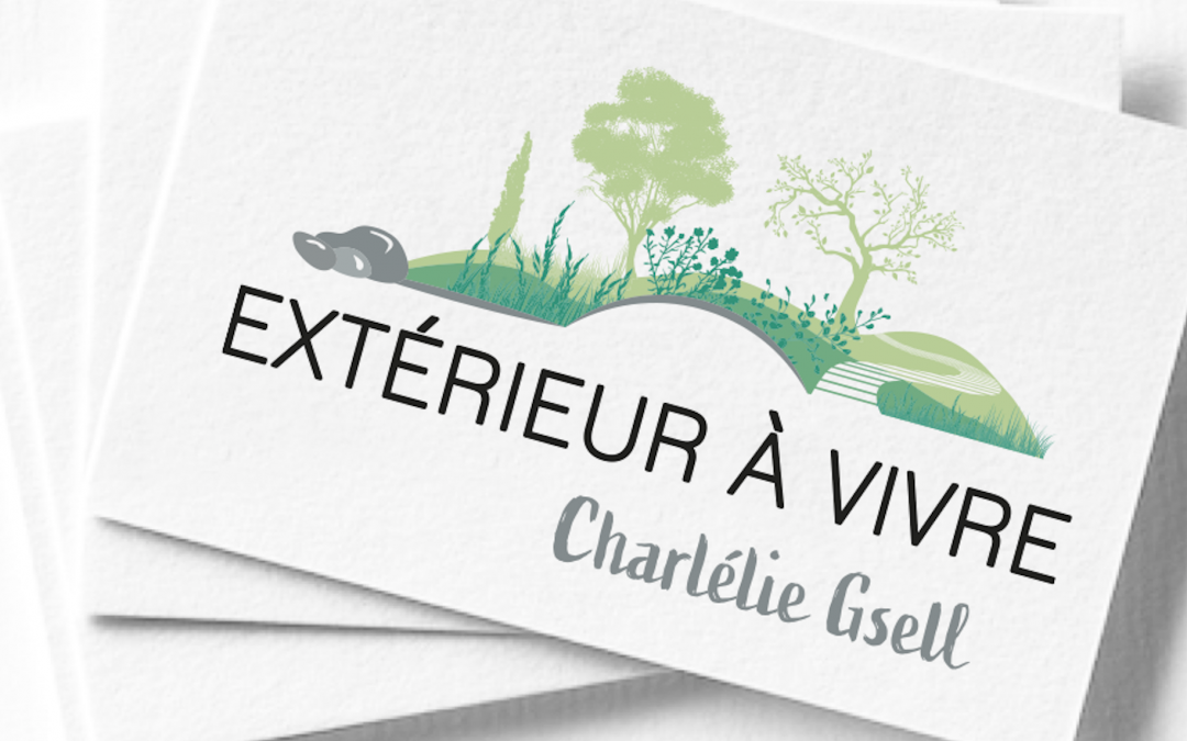 Logo et Carte de visite – Extérieur à vivre