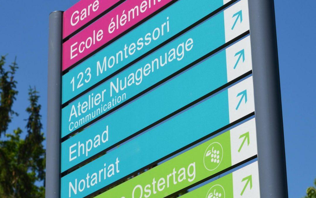 Signalétique urbaine – EPFIG
